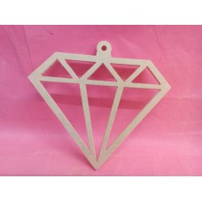 4mm MDF Diamond Shape